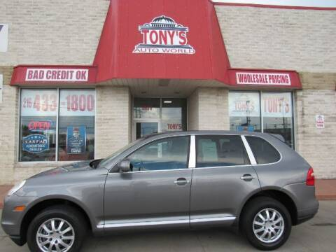 2008 Porsche Cayenne for sale at Tony's Auto World in Cleveland OH