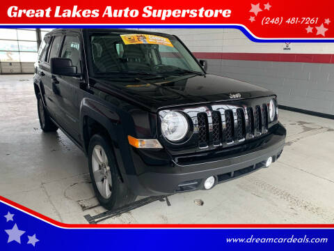2017 Jeep Patriot for sale at Great Lakes Auto Superstore in Pontiac MI