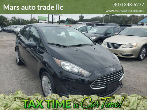 2018 Ford Fiesta for sale at Mars auto trade llc in Kissimmee FL