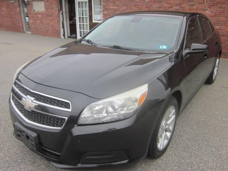 2013 Chevrolet Malibu for sale at Tewksbury Used Cars in Tewksbury MA