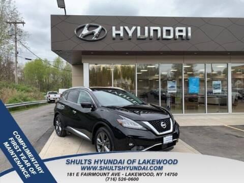 2019 Nissan Murano for sale at Shults Hyundai in Lakewood NY