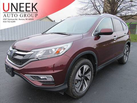 2016 Honda CR-V for sale at Uneek Auto Group LLC in Burton MI