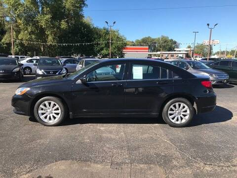 2013 Chrysler 200 for sale at Car Zone in Otsego MI