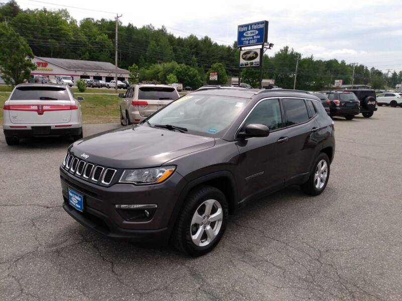 2018 Jeep Compass for sale at Ripley & Fletcher Pre-Owned Sales & Service in Farmington ME