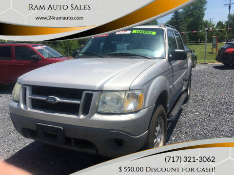 2003 Ford Explorer Sport Trac for sale at Ram Auto Sales in Gettysburg PA