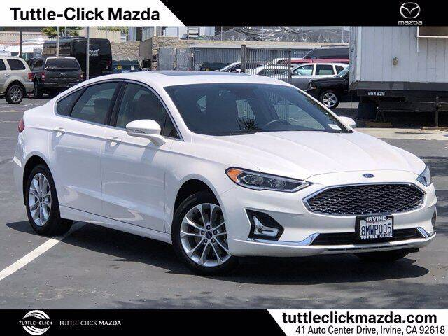 2020 Ford Fusion Energi for sale in Irvine, CA