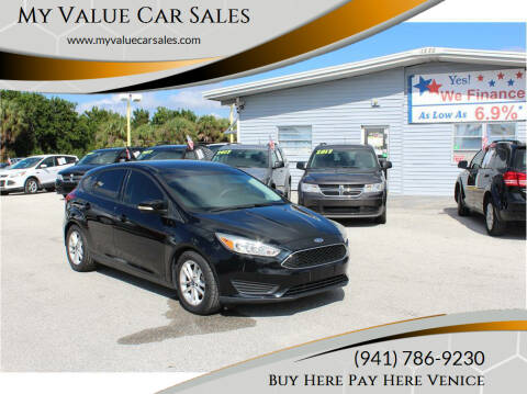 2016 Ford Focus for sale at My Value Car Sales in Venice FL