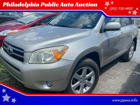 2008 Toyota RAV4 for sale at Philadelphia Public Auto Auction in Philadelphia PA