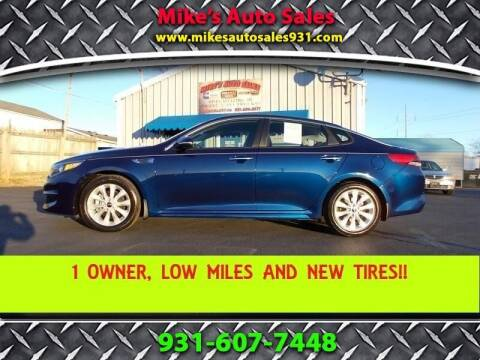 2018 Kia Optima for sale at Mike's Auto Sales in Shelbyville TN