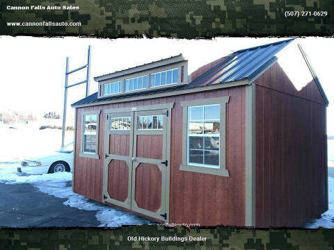2020 Old Hickory Buildings Utility Shed 10x16 for sale at Cannon Falls Auto Sales in Cannon Falls MN