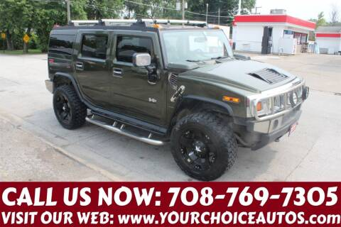 2003 HUMMER H2 for sale at Your Choice Autos in Posen IL
