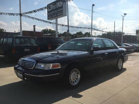 2000 Ford Crown Victoria for sale at Dino Auto Sales in Omaha NE