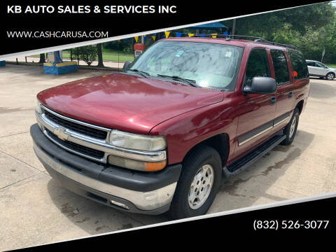 2005 Chevrolet Suburban for sale at KB AUTO SALES & SERVICES INC in Houston TX