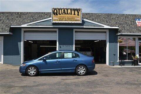 2008 Honda Civic for sale at Quality Pre-Owned Automotive in Cuba MO