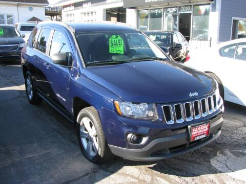 2016 Jeep Compass for sale at CLASSIC MOTOR CARS in West Allis WI