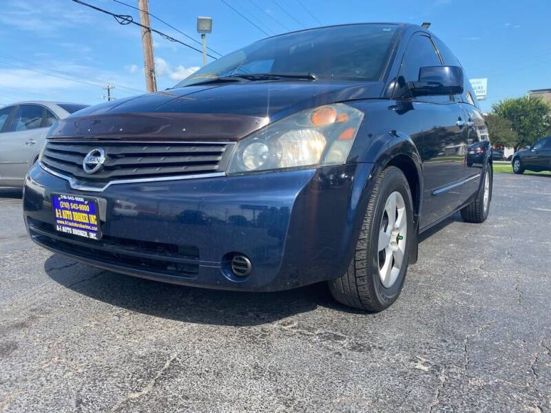 2007 Nissan Quest for sale at A-1 Auto Broker Inc. in San Antonio TX