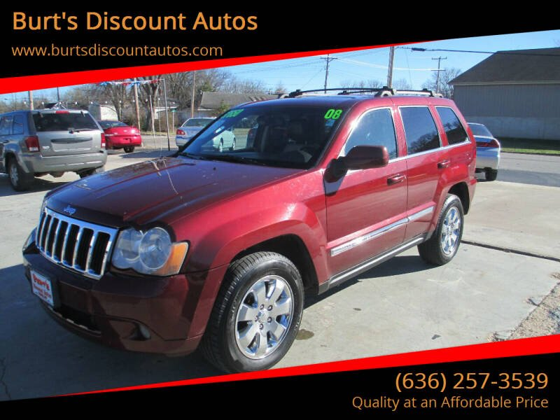 2008 Jeep Grand Cherokee for sale at Burt's Discount Autos in Pacific MO