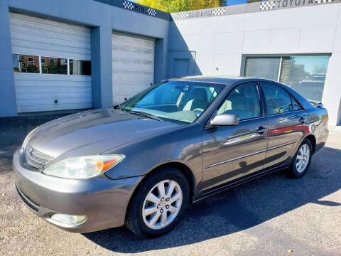 2004 Toyota Camry for sale at J & M PRECISION AUTOMOTIVE, INC in Fort Collins CO
