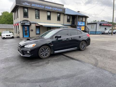 2018 Subaru WRX for sale at Sisson Pre-Owned in Uniontown PA