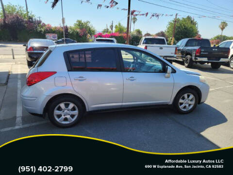 2007 Nissan Versa for sale at Affordable Luxury Autos LLC in San Jacinto CA