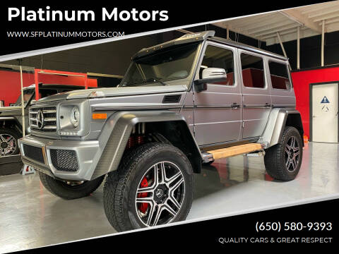 2017 Mercedes-Benz G-Class for sale at Platinum Motors in San Bruno CA