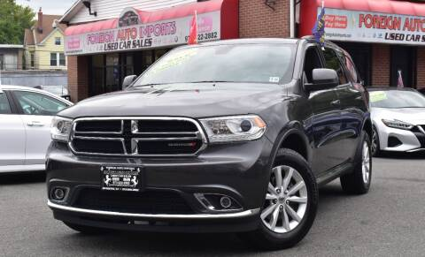 2019 Dodge Durango for sale at Foreign Auto Imports in Irvington NJ