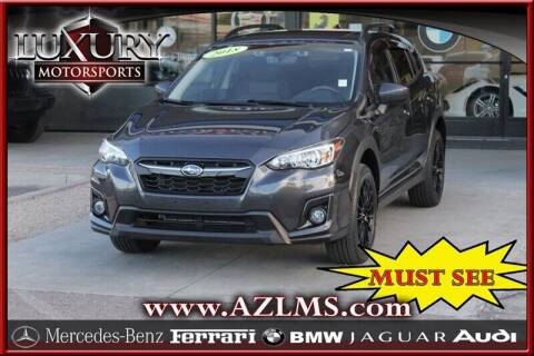 2018 Subaru Crosstrek for sale at Luxury Motorsports in Phoenix AZ