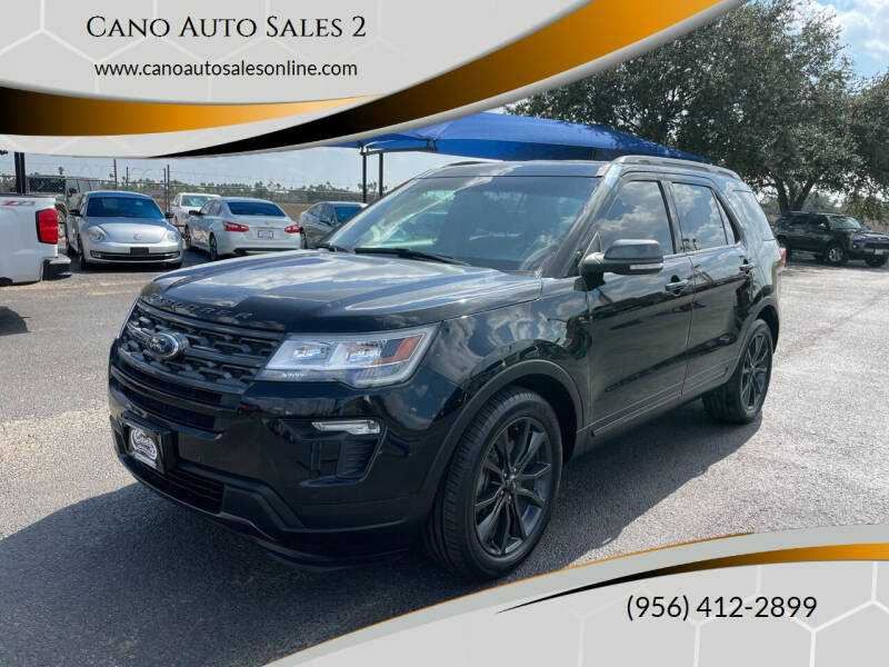 2018 Ford Explorer for sale at Cano Auto Sales 2 in Harlingen TX