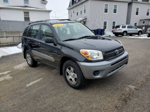 2005 Toyota RAV4 for sale at Fortier's Auto Sales & Svc in Fall River MA