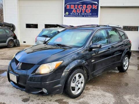 2003 Pontiac Vibe for sale at Ericson Auto in Ankeny IA