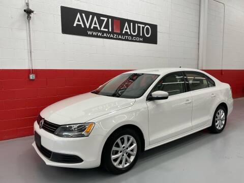 2013 Volkswagen Jetta for sale at AVAZI AUTO GROUP LLC in Gaithersburg MD