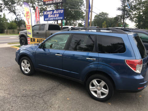 2010 Subaru Forester for sale at King Auto Sales INC in Medford NY