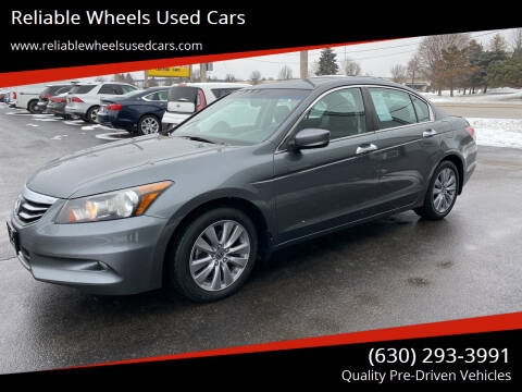2012 Honda Accord for sale at Reliable Wheels Used Cars in West Chicago IL
