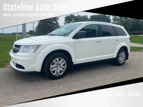 2018 Dodge Journey for sale at Stateline Auto Sales in Mabel MN