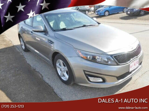 2015 Kia Optima for sale at Dales A-1 Auto Inc in Jamestown ND