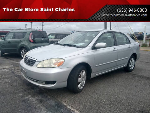 2006 Toyota Corolla for sale at The Car Store Saint Charles in Saint Charles MO