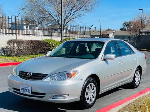 2003 Toyota Camry for sale at United Star Motors in Sacramento CA