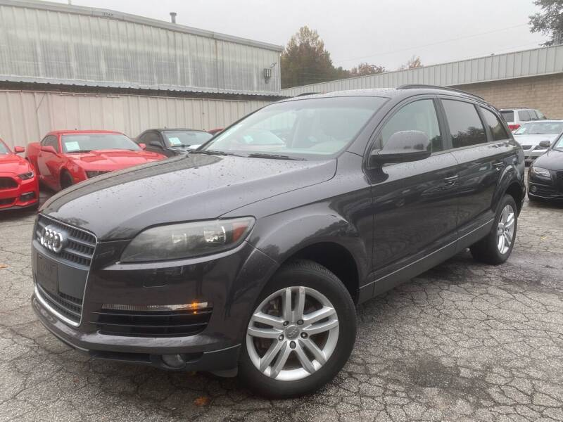 2009 Audi Q7 for sale at Car Online in Roswell GA