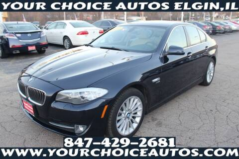 2012 BMW 5 Series for sale at Your Choice Autos - Elgin in Elgin IL