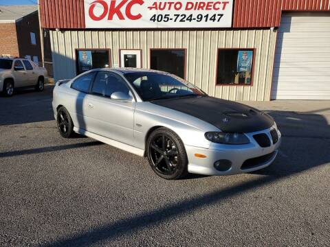 2004 Pontiac GTO for sale at OKC Auto Direct in Oklahoma City OK