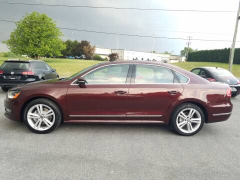 2013 Volkswagen Passat for sale at John Huber Automotive LLC in New Holland PA