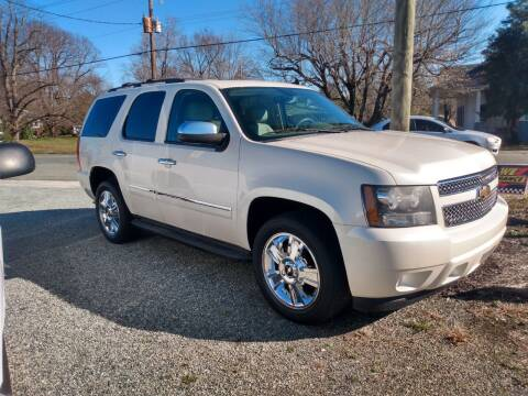 2010 Chevrolet Tahoe for sale at HWY 49 MOTORCYCLE AND AUTO CENTER in Liberty NC