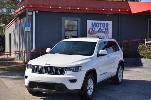 2017 Jeep Grand Cherokee for sale at Motor Car Concepts II - Kirkman Location in Orlando FL