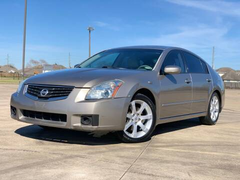 2008 Nissan Maxima for sale at AUTO DIRECT Bellaire in Houston TX