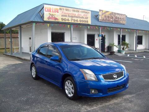2011 Nissan Sentra for sale at LONGSTREET AUTO in Saint Augustine FL