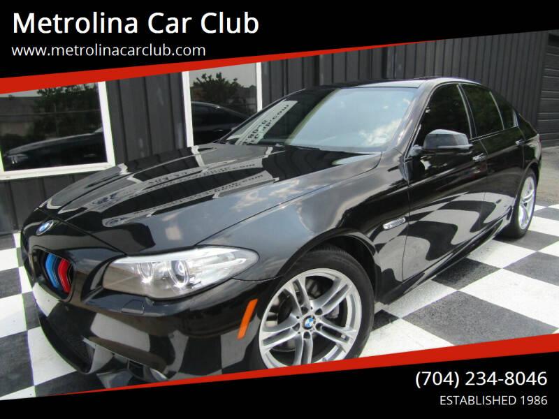 2016 BMW 5 Series for sale at Metrolina Car Club in Matthews NC