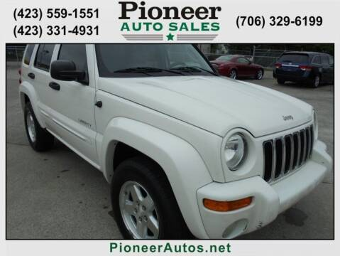 2004 Jeep Liberty for sale at PIONEER AUTO SALES LLC in Cleveland TN