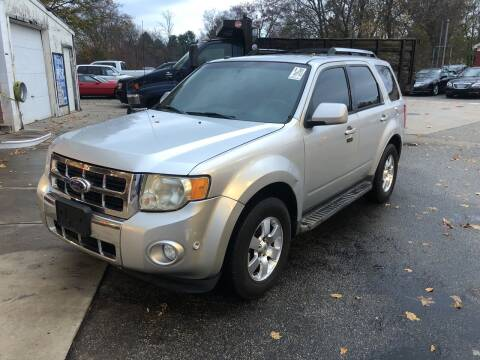 2011 Ford Escape for sale at Barga Motors in Tewksbury MA