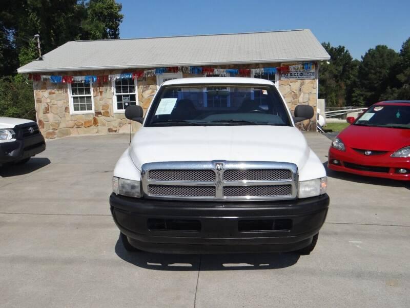 1999 Dodge Ram Pickup 1500 for sale at Flywheel Auto Sales Inc in Woodstock GA
