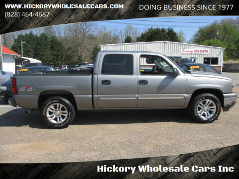 2007 Chevrolet Silverado 1500 Classic for sale at Hickory Wholesale Cars Inc in Newton NC